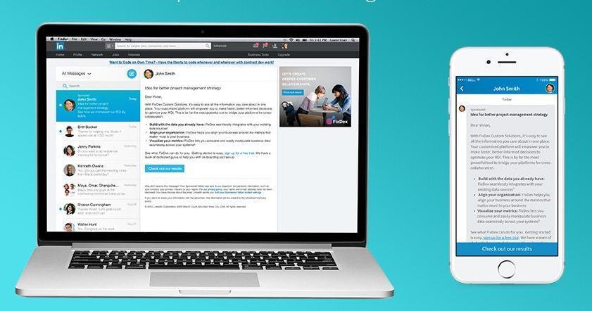 Get your job advert in the inbox of recent graduates on LinkedIn