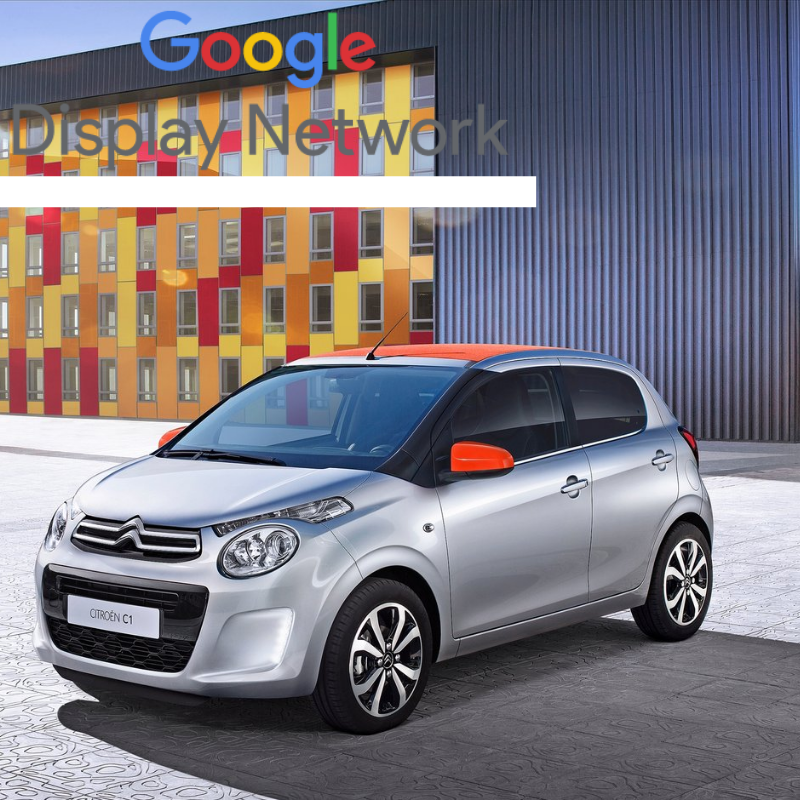 Advertise your Citroen C1 offers to highly targeted, 'in-market' buyers with Google Display