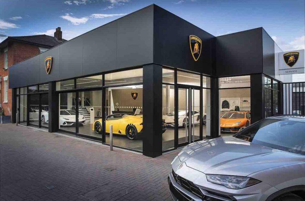 Lamborghini smash it with new HR Owen Branding
