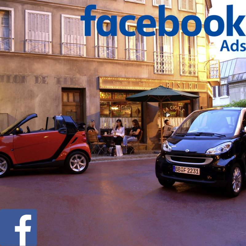 Smart used car website visitors direct from Facebook advertising