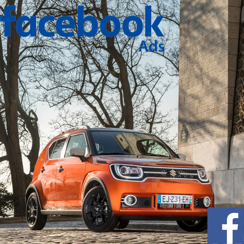 Match your customer data with Facebook users & promote the Suzuki Ignis offer to your customer database on Facebook.
