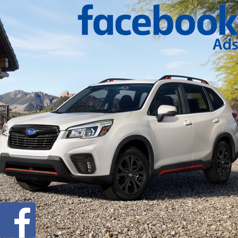 Match your customer data with Facebook users & promote the Subaru Forester offer to your customer database on Facebook.