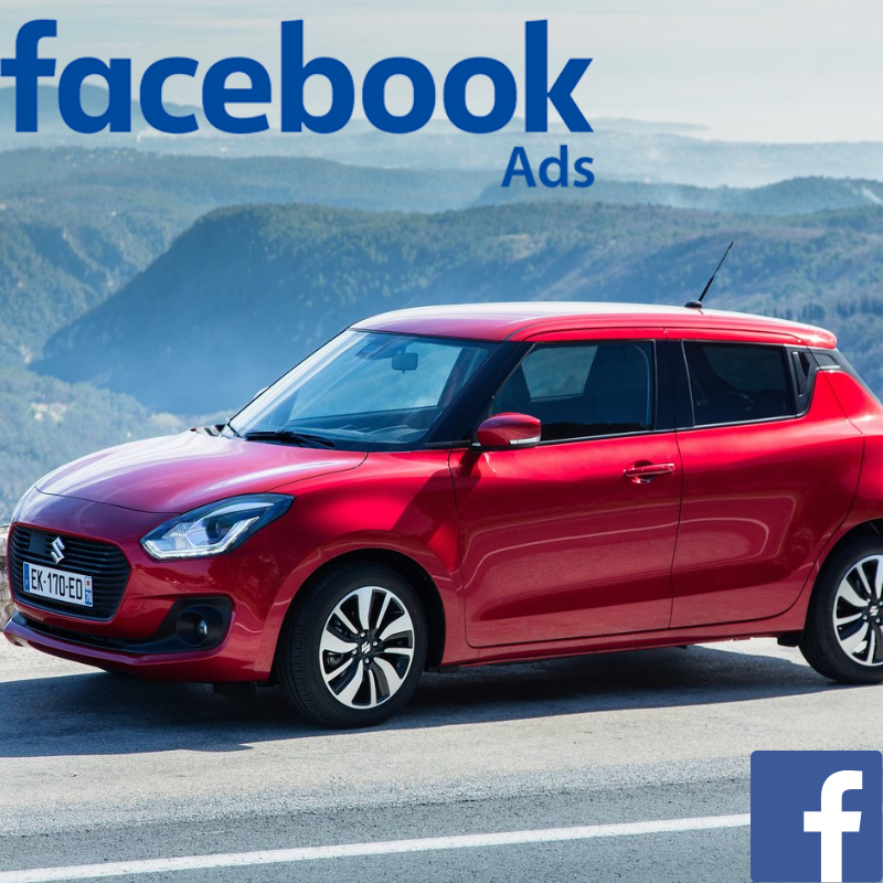 Match your customer data with Facebook users & promote the Suzuki Swift offer to your customer database on Facebook.