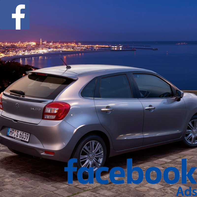Match your customer data with Facebook users & promote the Suzuki Baleno offer to your customer database on Facebook.