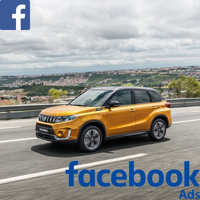 Match your customer data with Facebook users & promote the Suzuki Vitara offer to your customer database on Facebook.