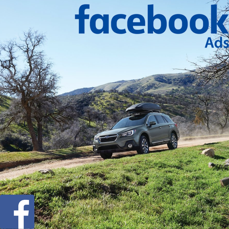 Match your customer data with Facebook users & promote the Subaru Outback offer to your customer database on Facebook.