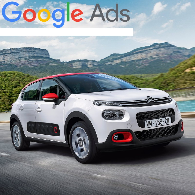 Buy a guaranteed fixed amount of  New Citroën C3 local website visitors (people searching on Google)