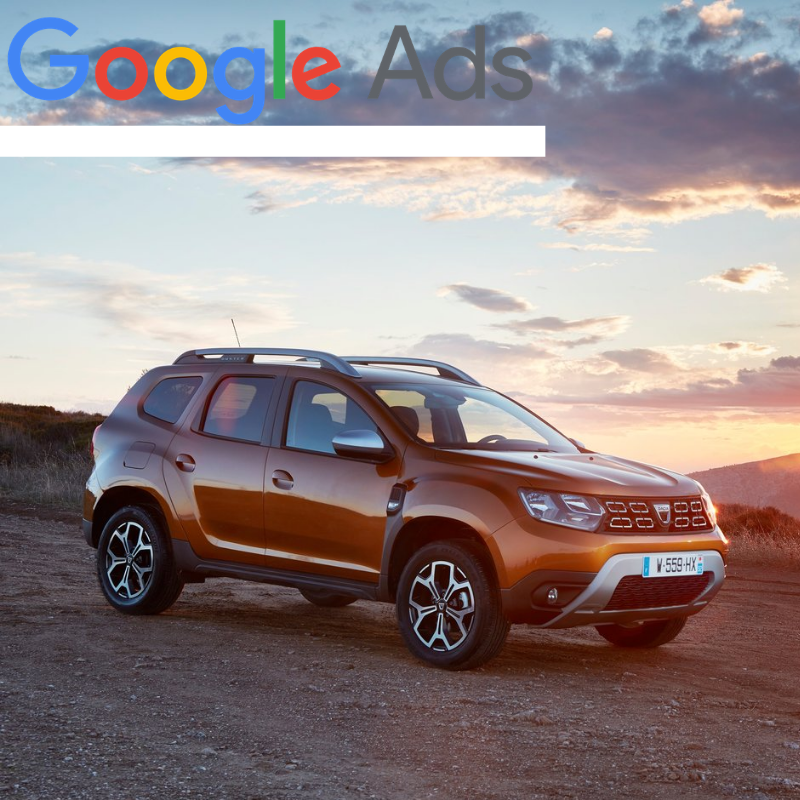 Buy a guaranteed fixed amount of  New Dacia Duster local website visitors (people searching on Google)