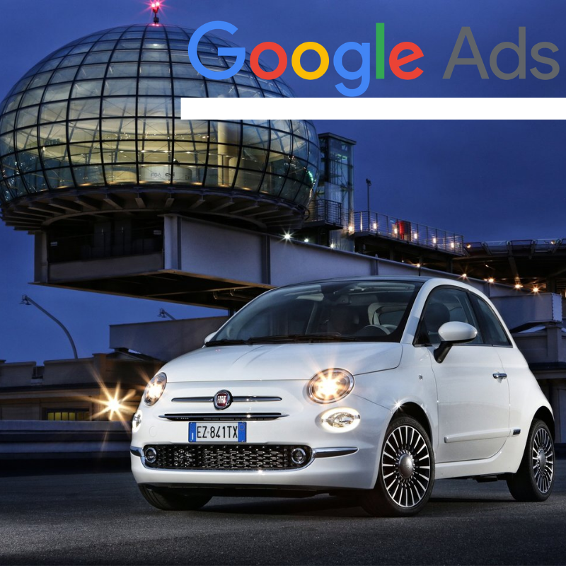 Buy a guaranteed fixed amount of  New Fiat 500 local website visitors (people searching on Google)