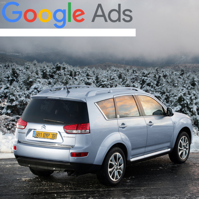 Buy a guaranteed fixed amount of  New Citroën C-Crosser local website visitors (people searching on Google)
