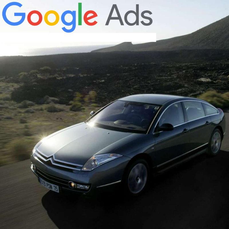 Buy a guaranteed fixed amount of  New Citroën C6 local website visitors (people searching on Google)