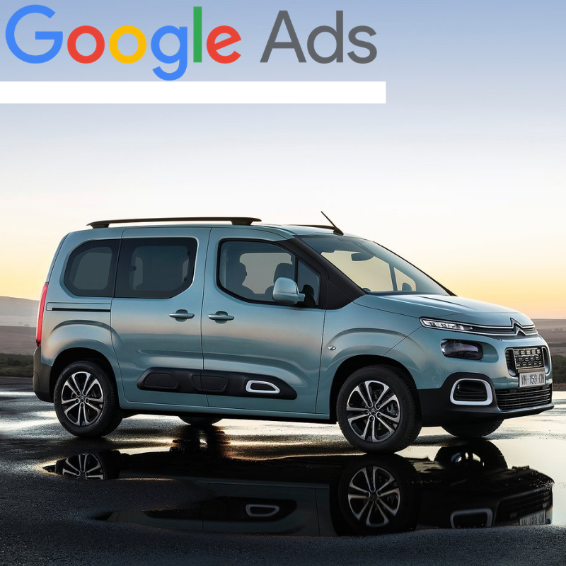 Buy a guaranteed fixed amount of  New Citroën Berlingo Multispace local website visitors (people searching on Google)