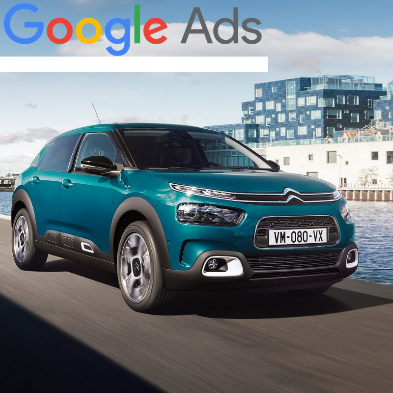 Buy a guaranteed fixed amount of  New Citroën C4 Cactus local website visitors (people searching on Google)