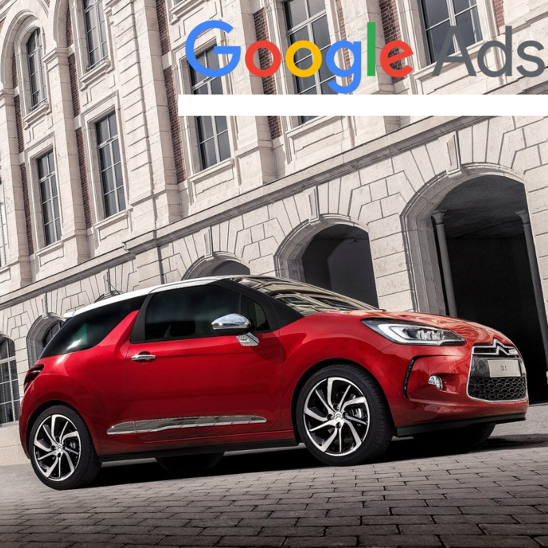 Buy a guaranteed fixed amount of  New Citroën DS3 local website visitors (people searching on Google)