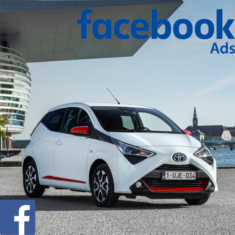 Match your customer data with Facebook users & promote the Toyota Aygo offer to your customer database on Facebook.