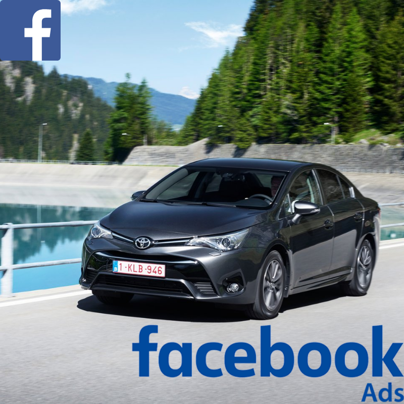 Match your customer data with Facebook users & promote the Toyota Avensis offer to your customer database on Facebook.