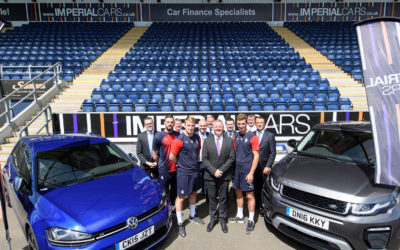 Imperial Cars make it to Wembley – but it's not the final, it's just the beginning.