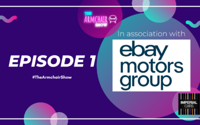 The Armchair Show | Episode 1 | Automotive podcast, motortrade radio & Youtube show.