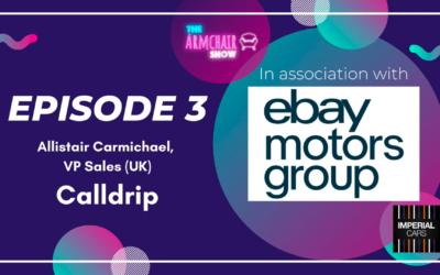 The Armchair Show   Episode 3   Allistair Carmichael @ Calldrip – Automotive podcast, motortrade radio & Youtube show