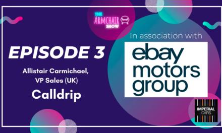 The Armchair Show | Episode 3 | Allistair Carmichael @ Calldrip – Automotive podcast, motortrade radio & Youtube show