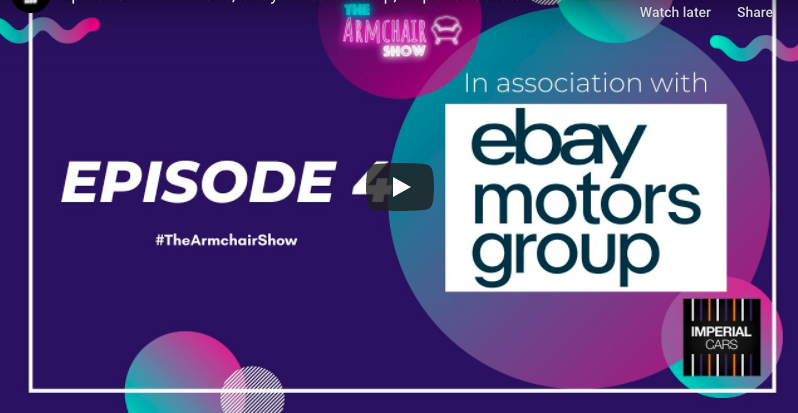 The Armchair Show – Ep. 4 – Marshalls, eBay Motors Group, Imperial Cars & UHY Hacker Young.
