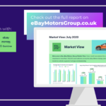 There's strong demand for used car stock & buyers are ready – Say eBay Motors Group.